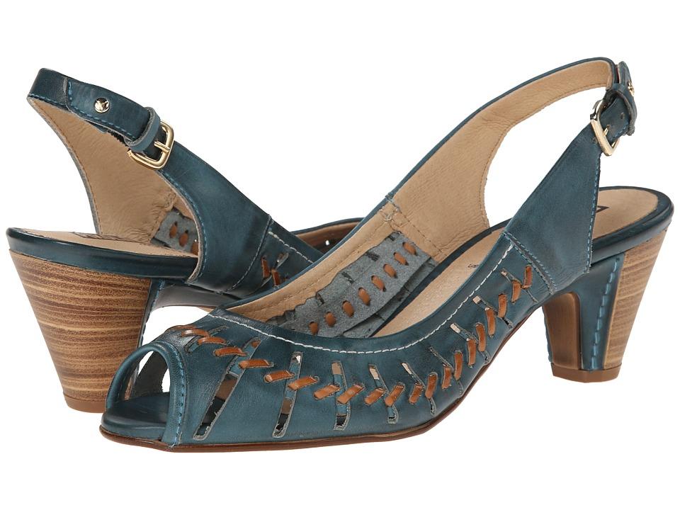 Pikolinos - Samoa W9A-1516 (Petrol) High Heels