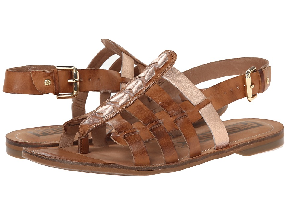 Pikolinos - Sao Paulo W7B-0556C1 (Brandy) Women's Dress Sandals