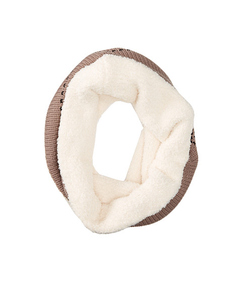 Gabriella Rocha - Fuzzy Knitted Circle Scarf (Grey) Scarves