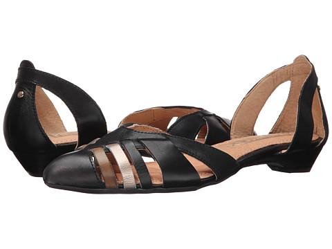 Pikolinos - Sicilia W6A-1505C2 (Black) Women's Dress Flat Shoes