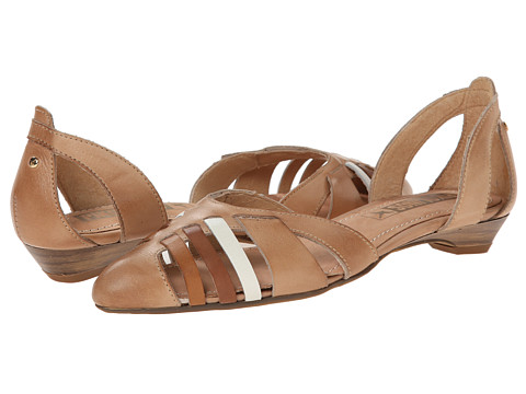 Pikolinos - Sicilia W6A-1505 (Nude) Women's Dress Flat Shoes