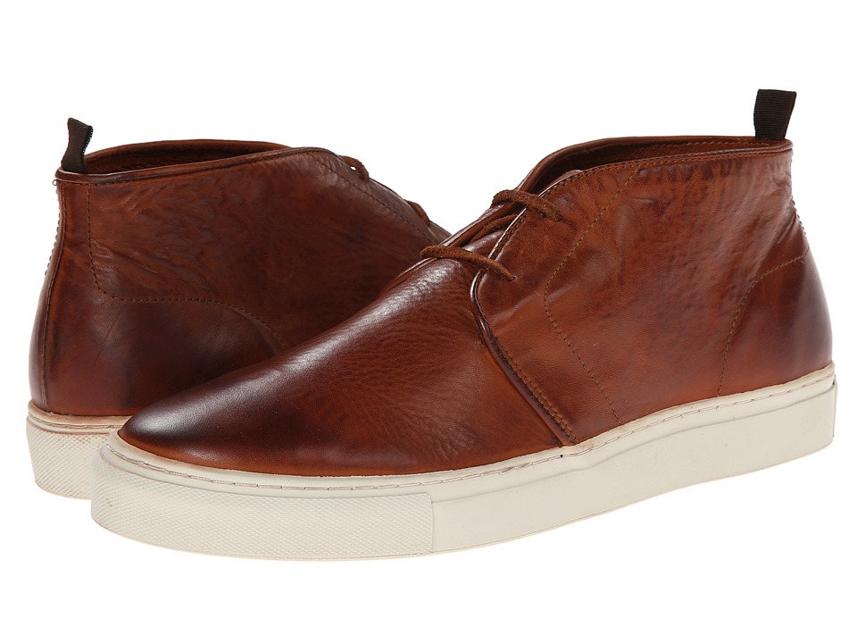 H by Hudson - Troga (Tan Drum Dye) Men's Shoes