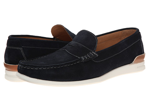 H by Hudson - Mcall (Navy Suede) Men's Shoes