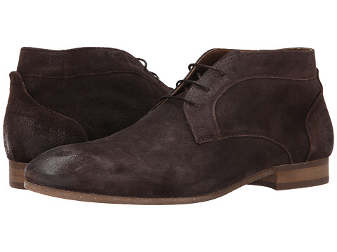 H by Hudson - Thursom 3 (Brown Suede) Men's Shoes