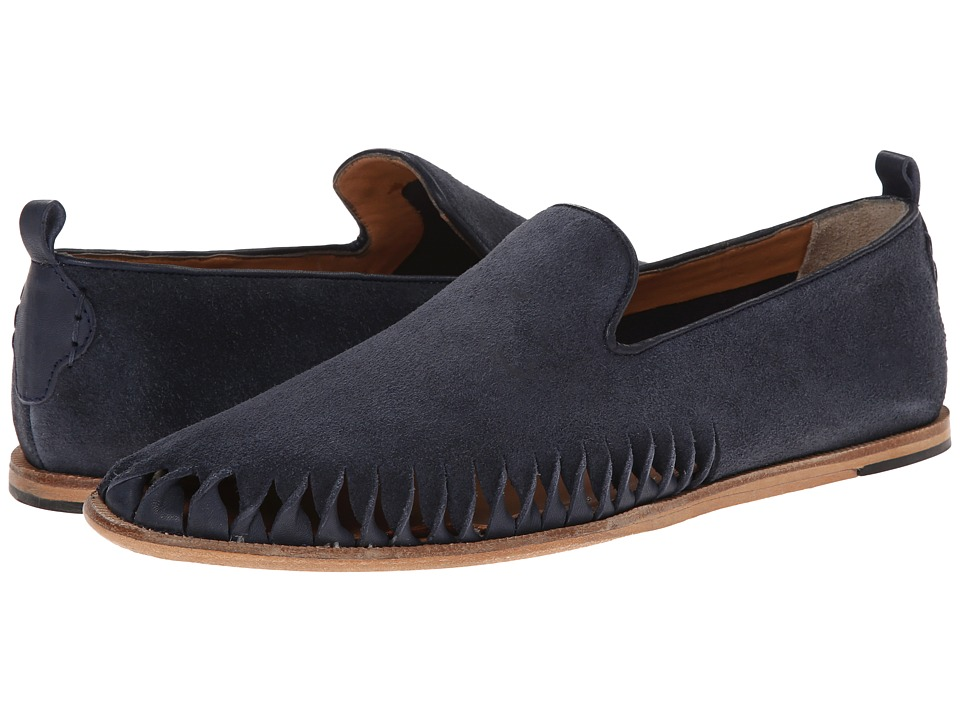 H by Hudson - Ramos (Navy Suede) Men's Shoes