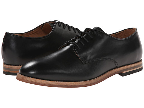 H by Hudson - Hadstone (Black Calf) Men's Shoes