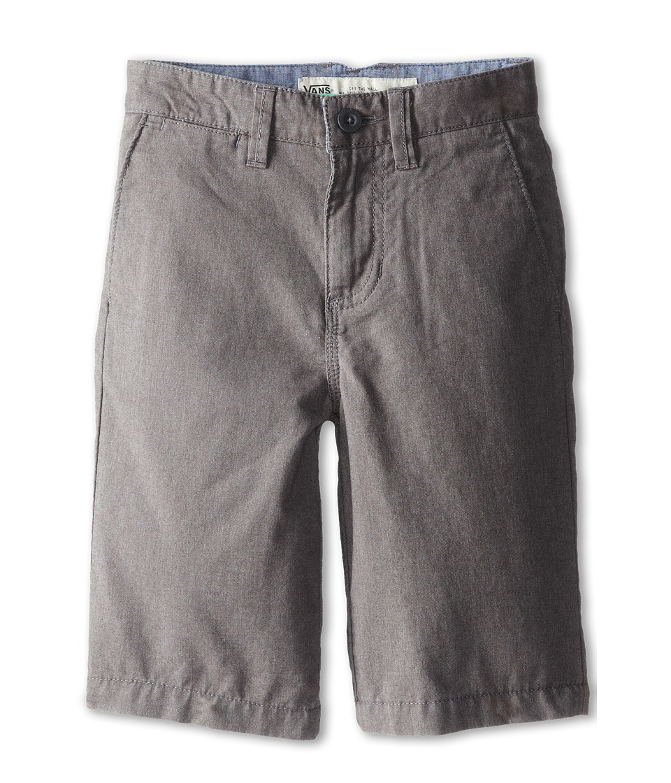 Vans Kids - Dewitt Shorts (Little Kids/Big Kids) (Gravel Heather) Boy