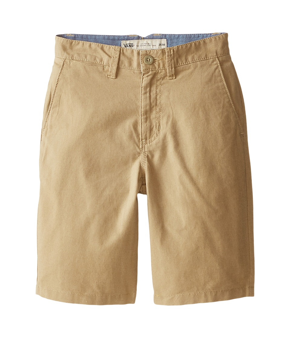 Vans Kids - Dewitt Shorts (Little Kids/Big Kids) (New Khaki Heather) Boy's Shorts
