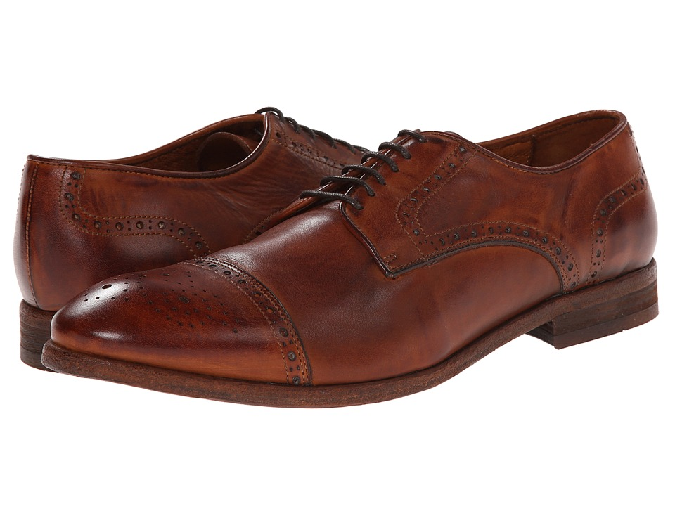H by Hudson - Davern (Tan Drum Dye) Men's Shoes