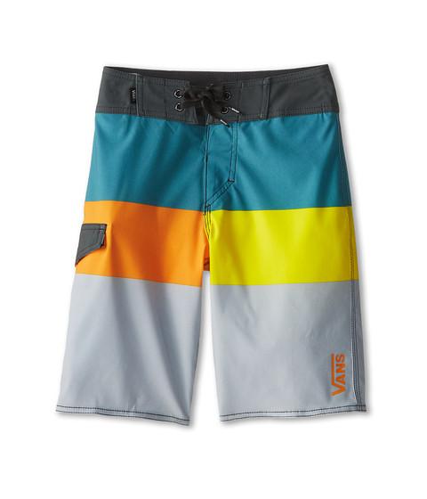 Vans Kids - Block Rock Boardshort (Little Kids/Big Kids) (Spa) Boy's Swimwear