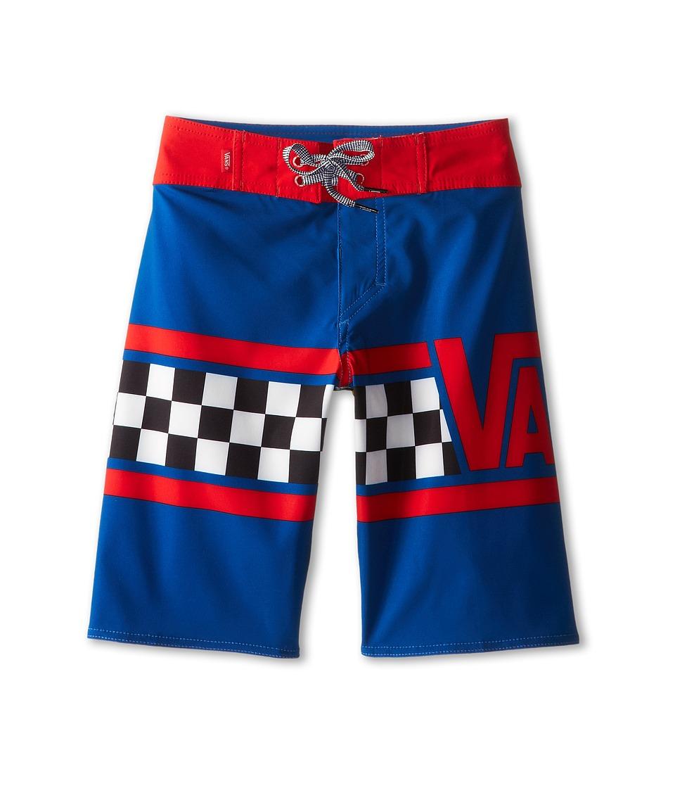 Vans Kids - Getting Grit (Little Kids/Big Kids) (Classic Blue) Boy's Swimwear