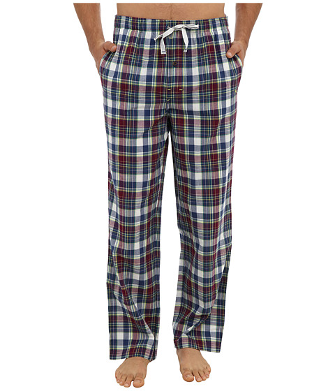 Tommy Bahama - Yarn Dyed Crinkle Plaid Lounge Pant (Coconut Cream Ivory Plaid) Men