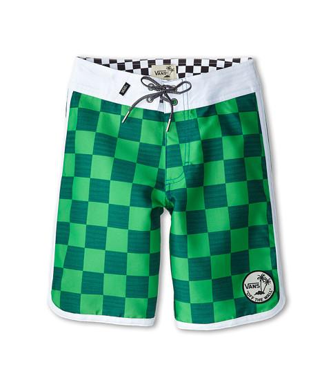 Vans Kids - Planetary Boardshort (Little Kids/Big Kids) (Green) Boy's Swimwear