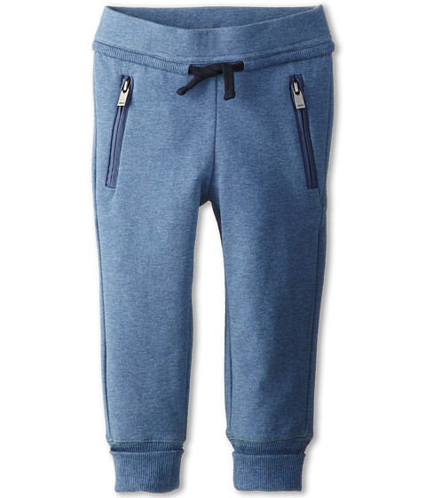 Vince Kids - French Terry Sweatpant (Toddler/Little Kids) (Bayou Blue) Girl's Casual Pants