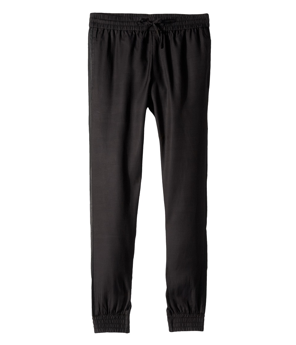 Vince Kids - Tuxedo Pant (Big Kids) (Black) Girl