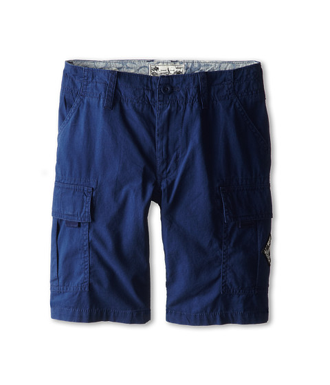 Vans Kids - Tudor Cargo (Little Kids/Big Kids) (Evil Blue) Boy's Shorts