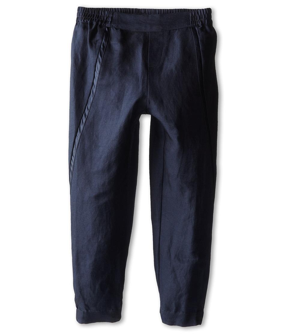 Vince Kids - Wrap Seam Pant (Toddler/Little Kids) (Coastal Blue) Girl's Casual Pants