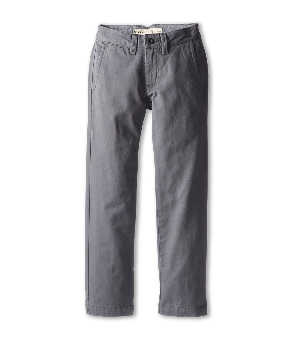 Vans Kids - Excerpt Chino Pants (Little Kids/Big Kids) (Gravel) Boy's Casual Pants