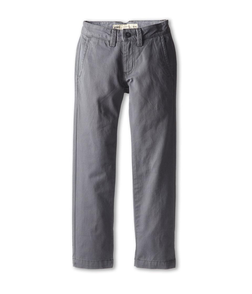 Vans Kids - Excerpt Chino Pants (Little Kids/Big Kids) (Gravel) Boy's Casual Pants