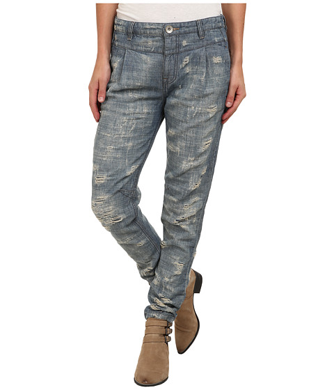 Free People - Destroyed Denim (Indigo) Women