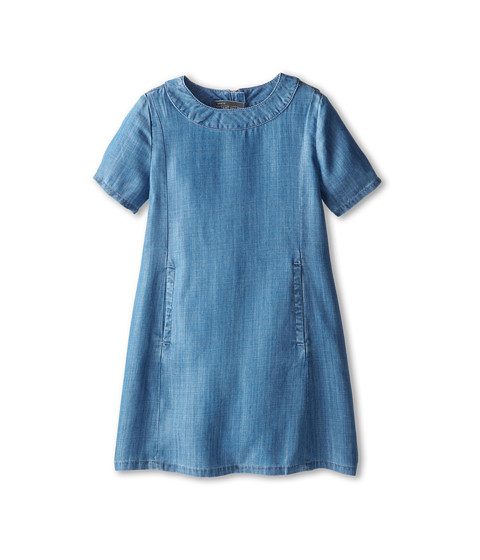 Vince Kids - Chambray Shift Dress (Big Kids) (Indigo) Girl
