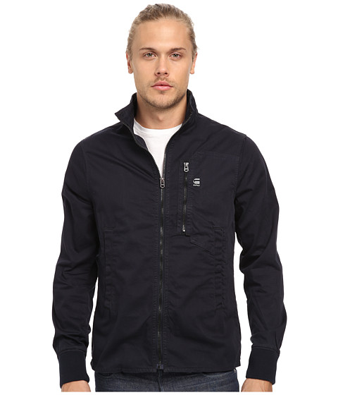G-Star - Recroft Overshirt (King Overdye Mazarine Blue) Men