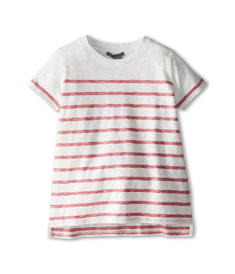 Vince Kids - Slub Stripe Tee (Big Kids) (Gypsey Stripe) Girl