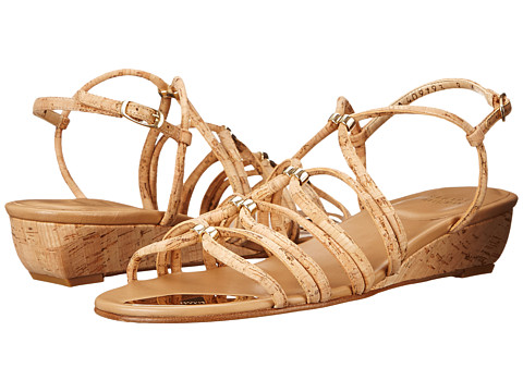 Stuart Weitzman - Nuts (Natural Cork) Women's Wedge Shoes