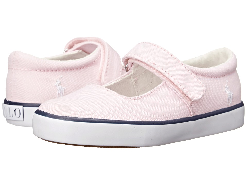 Polo Ralph Lauren Kids - Sandy MJ (Toddler) (Light Pink Oxford) Girls Shoes