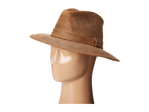 Stetson - Leather Outback (Hickory) Caps