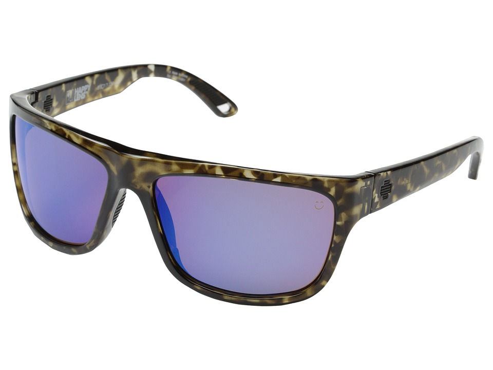 Spy Optic - Angler (Grey Tort/Happy Bronze w/ Blue Spectra) Fashion Sunglasses
