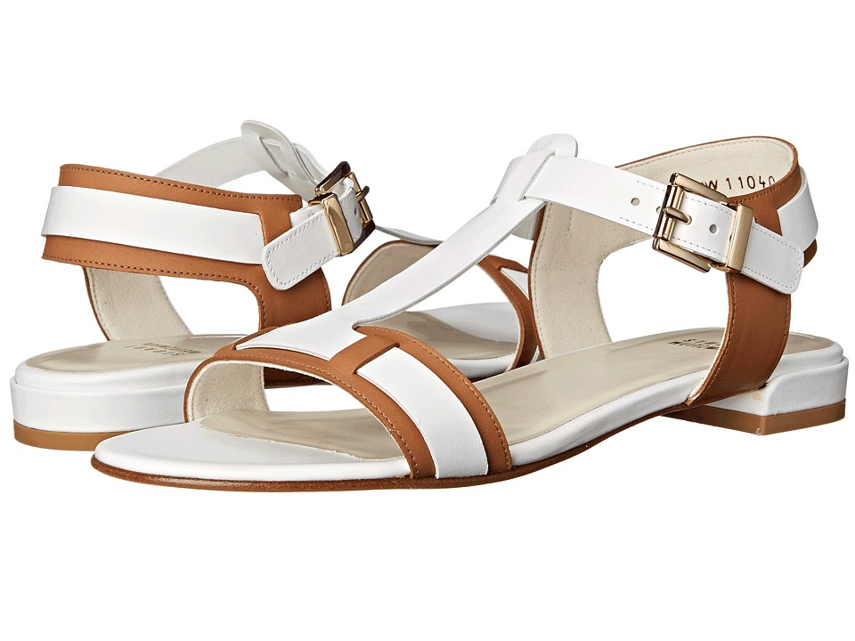 Stuart Weitzman - Teebop (White Vachetta) Women's Sandals