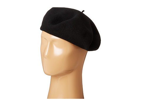SCALA - Wool Basque Beret (Black) Caps