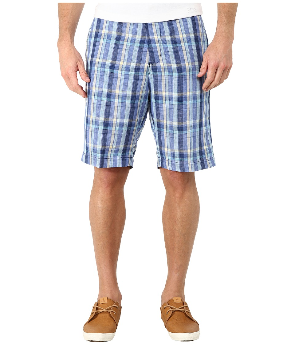 Tommy Bahama - Paddleboard Plaid (Coastline) Men's Shorts