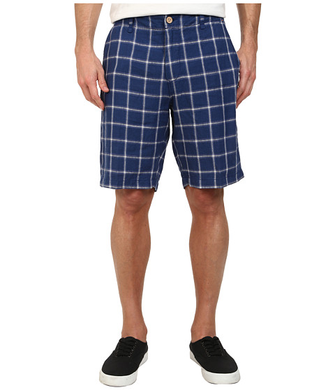Tommy Bahama - Sorrento Square 10 Linen Shorts (Deep Water) Men's Shorts
