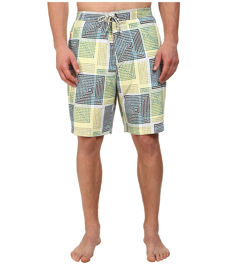 Tommy Bahama - Baja Matrix (Solar Panel) Men's Swimwear