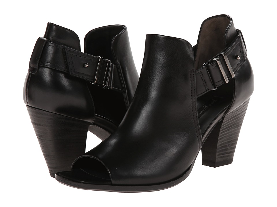 Paul Green Claudine (Black Leather) Women