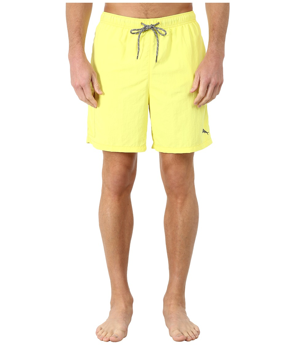 Tommy Bahama - The Naples Happy Go Cargo 6 Swim Trunks (Lemon Flash) Men's Swimwear