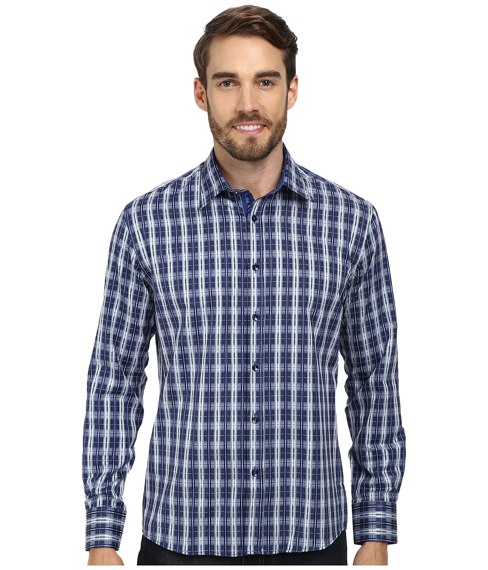 DI NERO MILANO - Luca Casual Dress Shirt (Ocean) Men