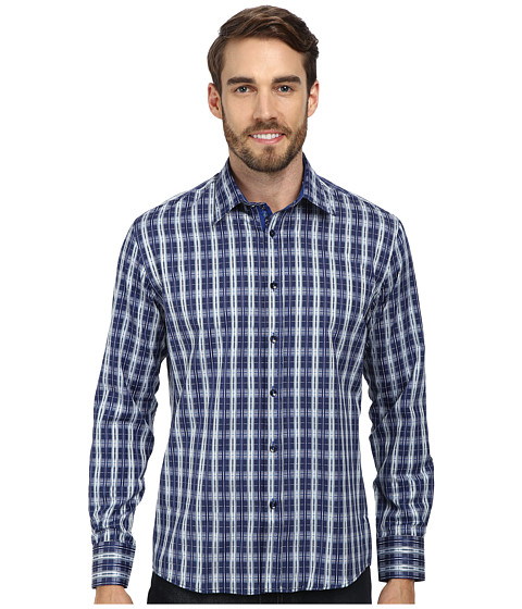 DI NERO MILANO - Luca Casual Dress Shirt (Ocean) Men's Clothing