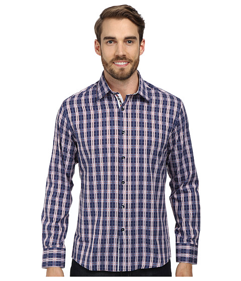 DI NERO MILANO - Luca Casual Dress Shirt (Tango) Men's Clothing