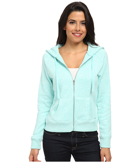 U.S. POLO ASSN. - Hooded Jacket (Heather Aqua Thaw) Women's Sweatshirt