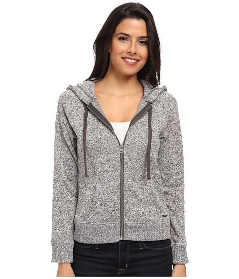 U.S. POLO ASSN. - Hooded Jacket (Heather Charcoal) Women