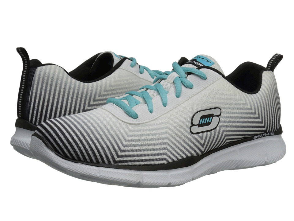 SKECHERS - Expect Miracles (White Black) Women's Shoes