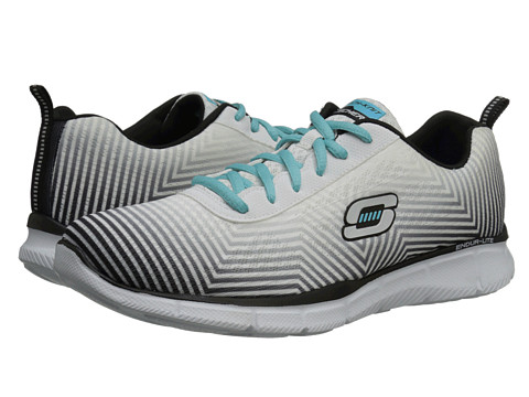 SKECHERS - Expect Miracles (White Black) Women