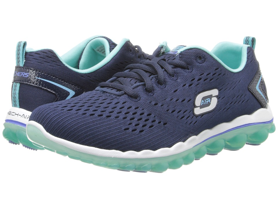 SKECHERS - Skech-Air Run 2.0 - Aim High (Navy Blue) Women's Shoes
