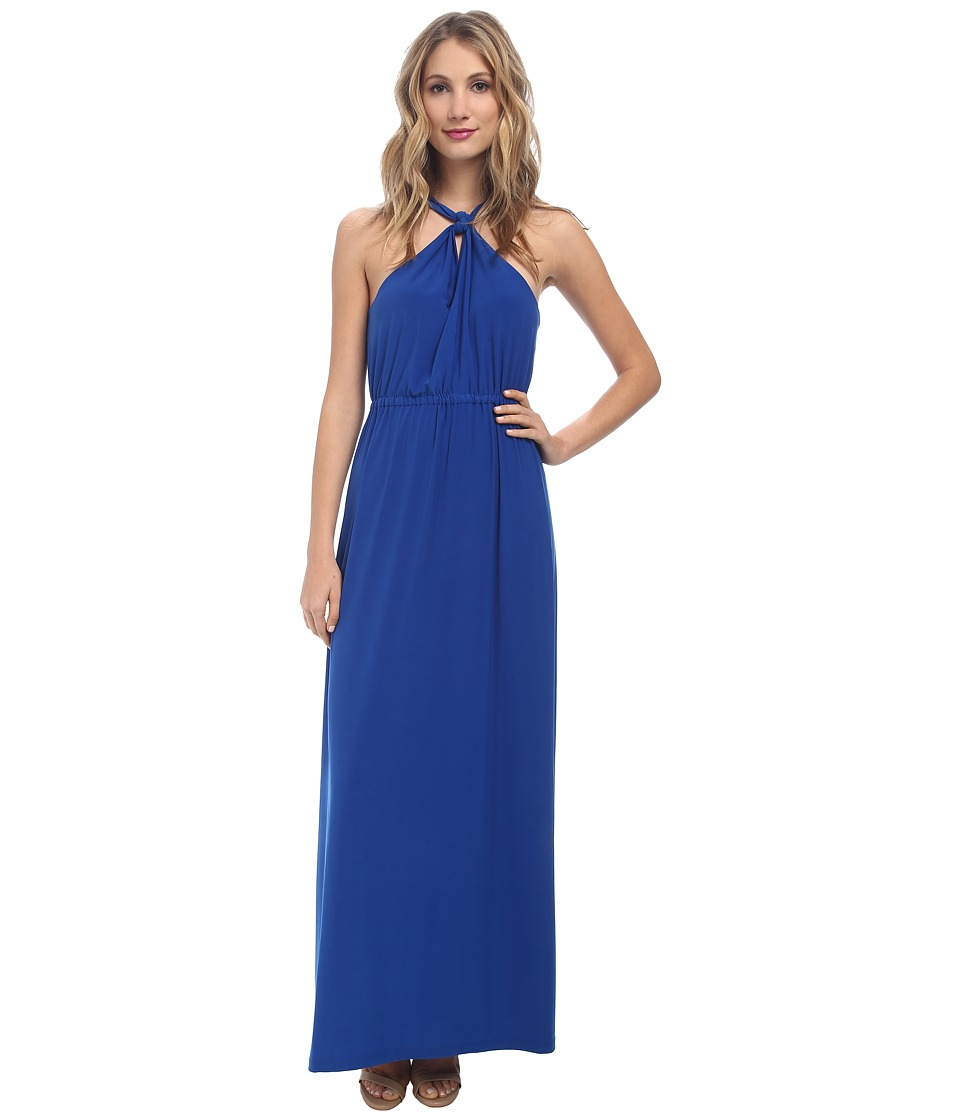 Susana Monaco Gracie Maxi Dress (Sapphire) Women