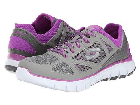 SKECHERS - Style Source (Gray Purple) Women