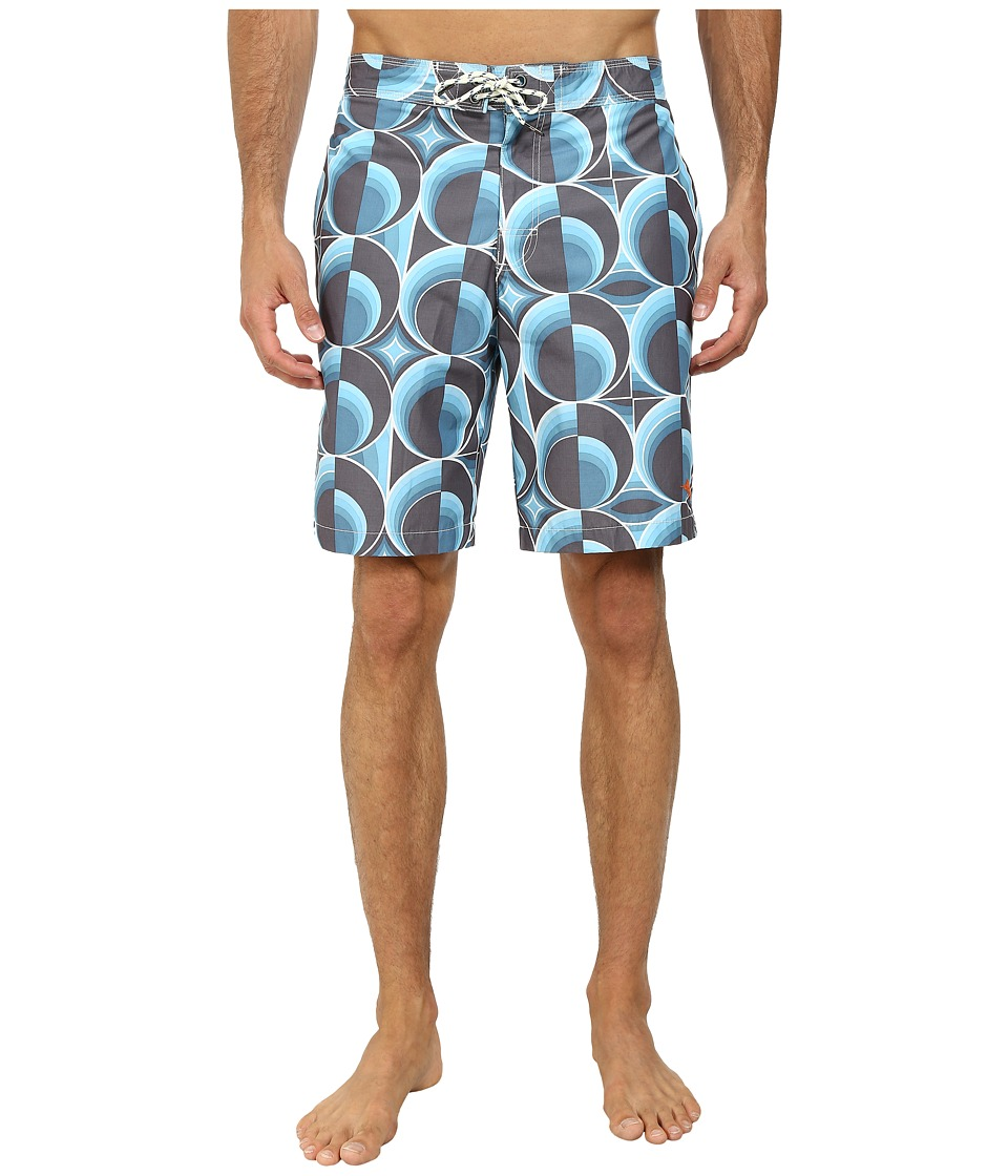 Tommy Bahama - Baja Cyber Circles (Arroyo Blue) Men's Swimwear