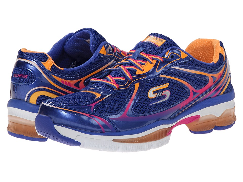 SKECHERS - Out There (Blue Multi) Women's Shoes